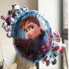 Фольгированный двухсторонний шарик с Анной Холодное сердце