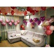 Украшение комнаты для девочки на выписку из роддома