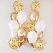 Фонтан из шаров на свадьбу