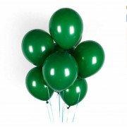 Фонтан из зеленых шаров