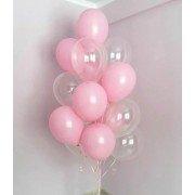 """Фонтан из розовых шаров """"Воздушный"""""""