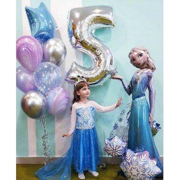 Ходячая фигура Эльза и цифра 5