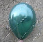 Шарик металлик тёмно зелёного цвета (068)