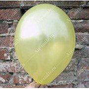 Шарик металлик жёлтого цвета (082)