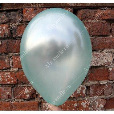 Бирюзовый шарик оттенка металлик