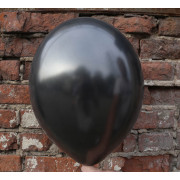 Шарик металлик чёрного цвета (090)
