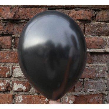 Чёрный шарик оттенка металлик
