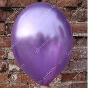 Шарик металлик фиолетового цвета (062)