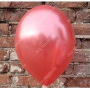 Шарик металлик красного цвета (080)