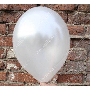 Перламутровый белый шарик металлик