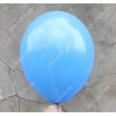 Шарик матовый синего цвета