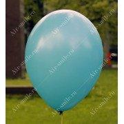 Матовый шарик бирюзового цвета (013)
