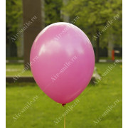 Матовый шарик малинового цвета (010)