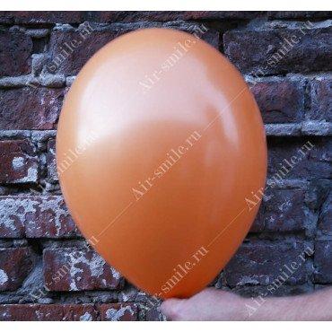 Шарик матовый оранжевого цвета