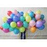 Разноцветные шарики пастель матовые