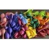 Разноцветные шары микс пастель матовые не накаченные