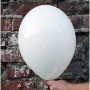 Матовый белый шарик (002)
