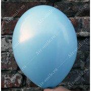 Матовый голубой шарик (003)