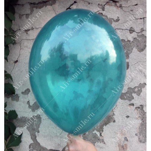 Шарик кристалл бирюзового цвета