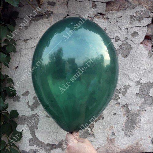 Прозрачный шарик зелёного цвета