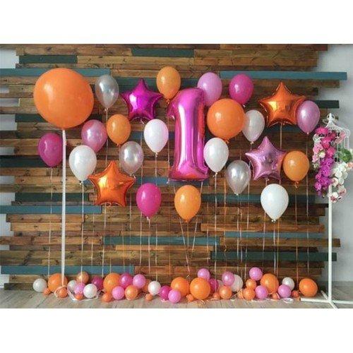 Фотозона для девочки из шариков