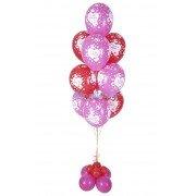 Букет из шаров с надписью «Я тебя Люблю»