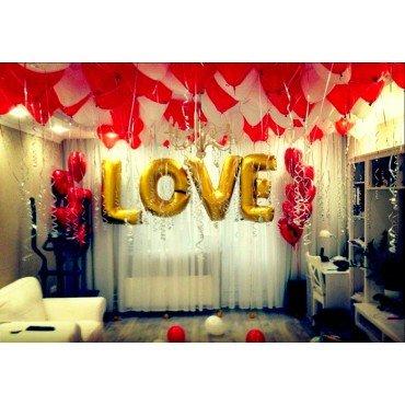 Воздушные шарики для влюблённых love