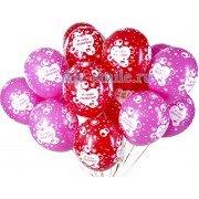 Воздушные шарики для влюблённых с надписью «Я тебя люблю