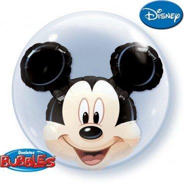 Шар Bubbles с мышонком микки внутри