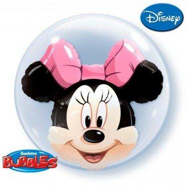 Шар Bubble мышка Минни Маус