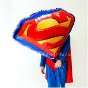 """Фольгированный шар """"Эмблема Супермена"""""""