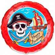 "Шарик 18"" HB Пираты"