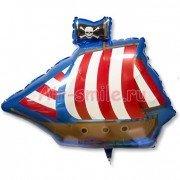 Шар фигура Пиратский корабль