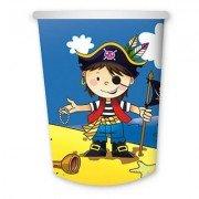 Стаканы бумажные Маленький пират
