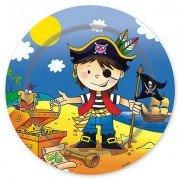 Тарелки малые Маленький пират