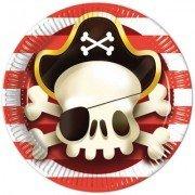 Тарелки Сундук пирата