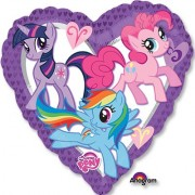 "Шар 18"" My Little Pony сердце"