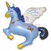 Фигура Единорог волшебный синий
