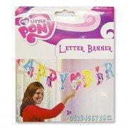 Гирлянда-буквы НВ My Little Pony