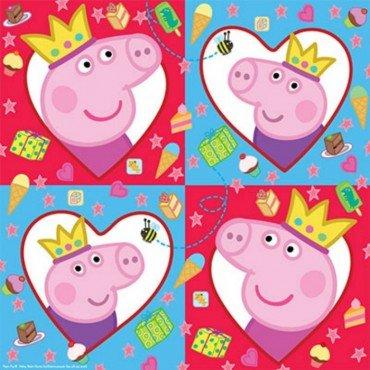 Салфетки с героями Свинка Пеппа