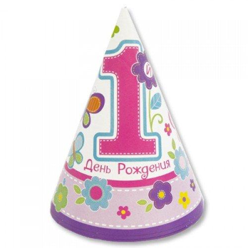 Колпачки на голову первый день рождение для девочки