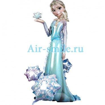 Ходячий воздушный шар Холодное сердце Эльза