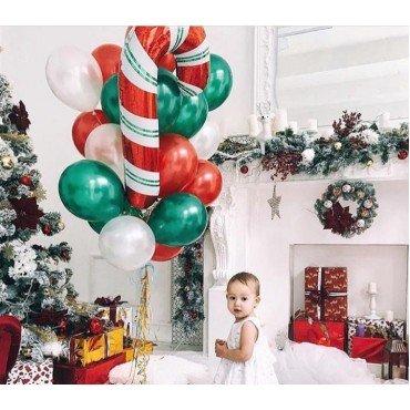 Облако шаров на новый год и фото сессию малышку