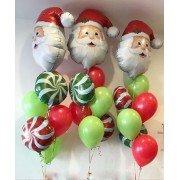 """Фонтан """"Санта Клаус и карамелька"""""""
