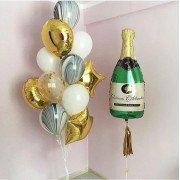 """Комплект шаров на новый год """"Загадай желание"""""""