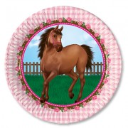 Тарелки большие Лошадки