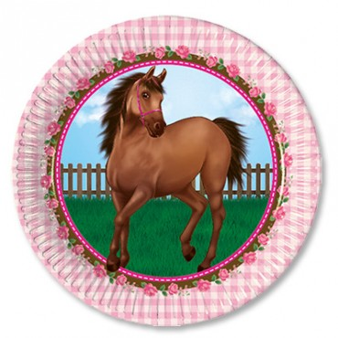Тарелка лошадка