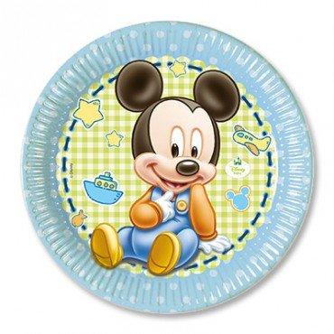 Тарелка мики малыш