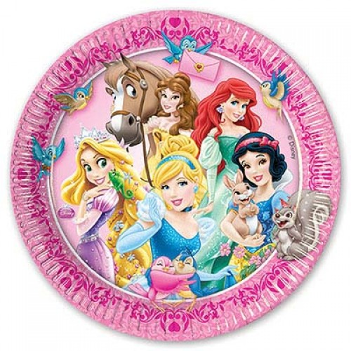 Тарелка с принцессами