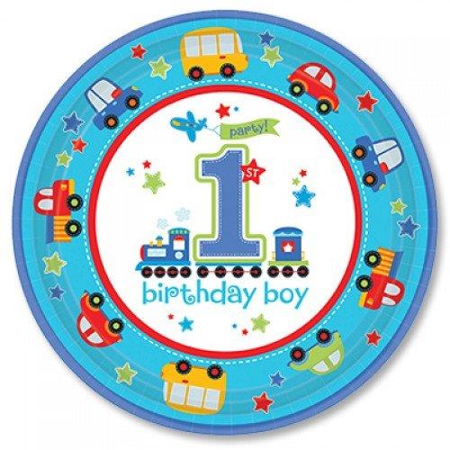 Тарелка на первый день рождения мальчика